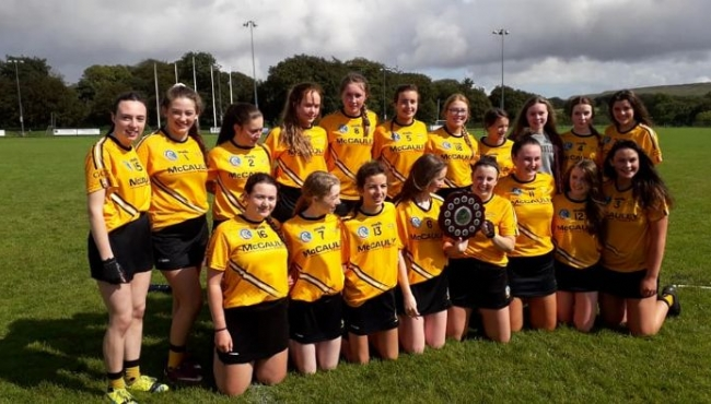 Portglenone take Under 16 A2 title